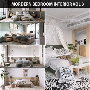3D Bedroom Collection 03