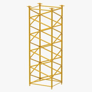 crane f intermediate section 3D model