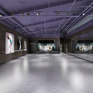 3D Dance Studio model