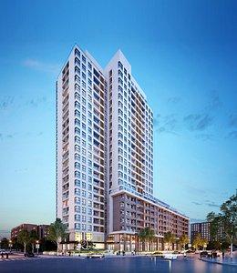 Highrise building 3D