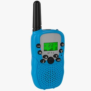 Kids Walkie Talkie model