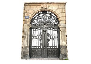 3D Ornaments Gate