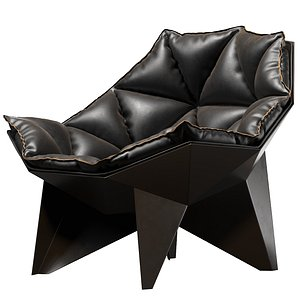3D model Q1 Lounge Chair By Odesd2