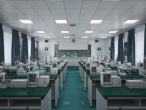 Laboratory Classroom model