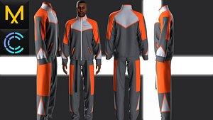 New concept Marvelous Clo3D Outfit Male 3D model