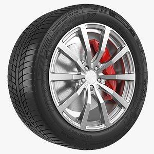Wheel Brock model