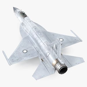 Chengdu FC-1 Xiaolong Pakistan Air Force 3D model