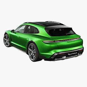 3D 2022 Porsche Taycan Cross Turismo
