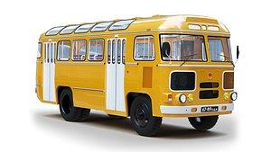 3D Bus PAZ 672