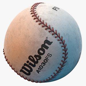 Baseball 3D model