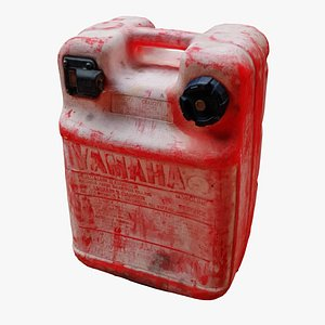 red fuel tank jerry 3D