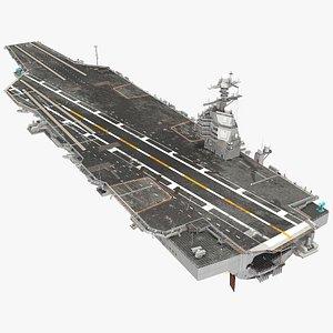 uss gerald cvn 78 3D model