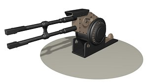 Heavy gun R3 3D model