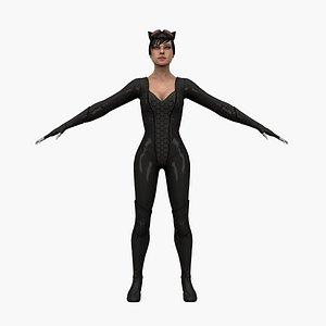 hero batman 3D model