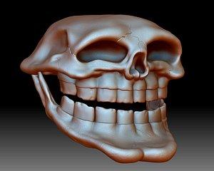 3D model troll face printable