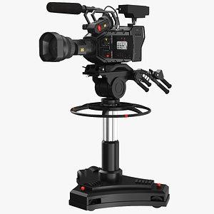 real studio camera 3D model