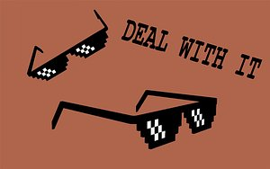 3D meme glasses