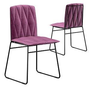 3D Sled Chair model