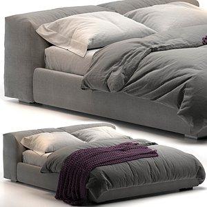 3D Superoblong Cappellini bed model