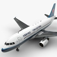 Airbus A319-100 CHINA Southern Airlines L1370