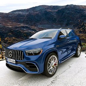 3D 2021 AMG GLE 63 S 4MATIC