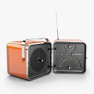 3D radio cubo