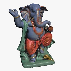 3D model Ganesha - Elephant God