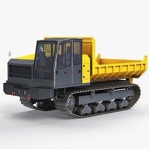 crawler carrier terramac rt14 3D model