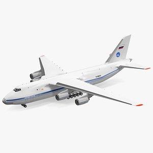 Antonov An124 100 Ruslan Aircraft 3D model