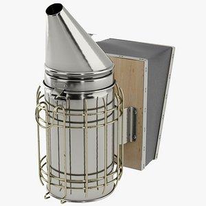 3D model Bee Hive Smoker