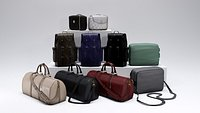 Fashion accessories set - bag - backpack - purse