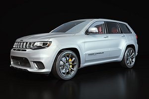 jeep cherokee trackhawk 3D model
