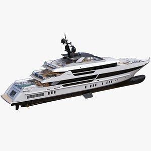 Sanlorenzo 52 Steel Superyacht 3D model