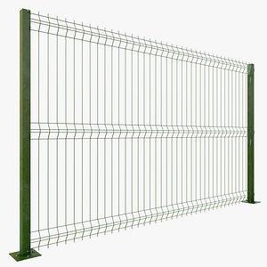 3D model Fence v1 with PBR 4K 8K