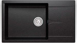 3D Sink Polygran GALS-862 black model
