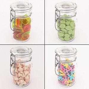 3D candy jars model