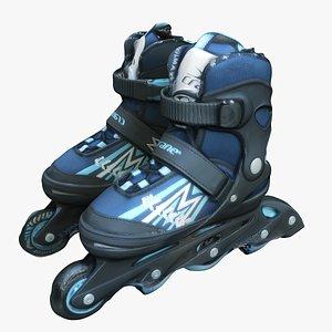 3D model Shoes 77 Roller Blades