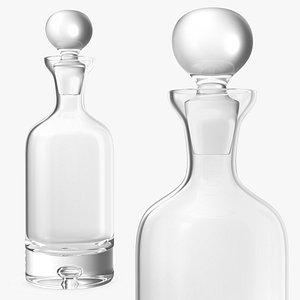 direction decanter glassware glass 3D