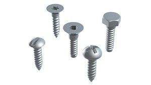 3D tool industrial screw