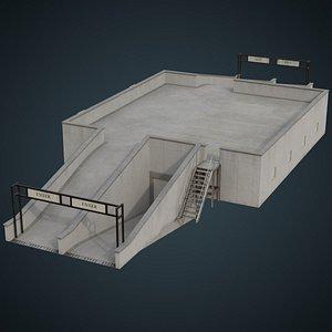 entrance 2b 3D model