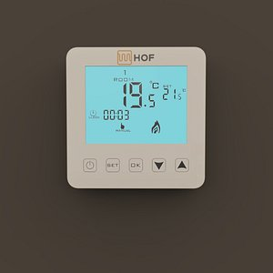 Thermostat for underfloor heating HOF sen 3D model
