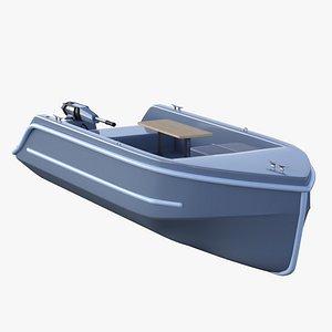 Electric Go Boat 3D model