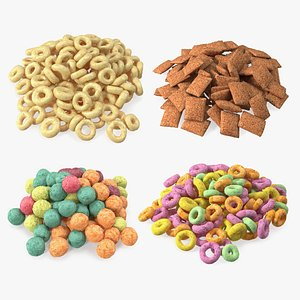 Breakfast Cereal Meal Collection model