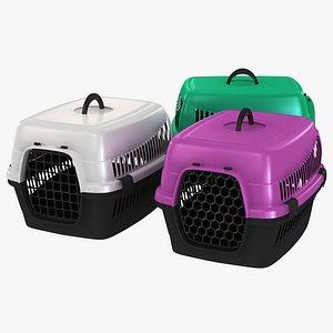 Pet Carrier Box Collection 3D model