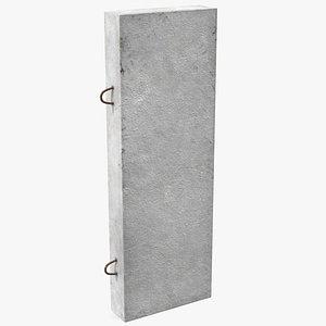 precast concrete panel model