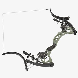 3D model compound bow lever