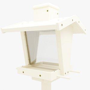 3D model bird feeder