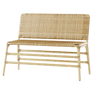 bench rattan model