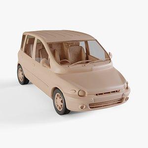 1998 Fiat Multipla model