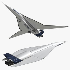 3D ssa airliner concept